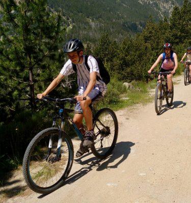 Bicicleta de muntanya Lapierre a les Colònies Estiu Pyrene