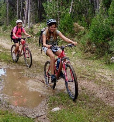 Bicicleta de muntanya Specialized a les Colònies Estiu Pyrene