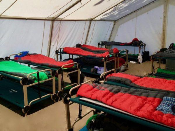 Sac de dormir Salewa SPICE -1ºC a les Colònies Estiu Pyrene.